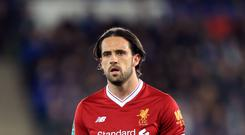 Danny Ings is regaining his match fitness with Liverpool's Under-23 side