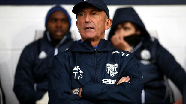 Tony Pulis spent just under three years in charge of West Brom