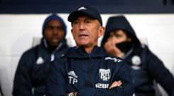 Tony Pulis has paid the price for West Brom's dreadful form