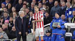 The moment Peter Crouch broke the record