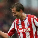 Stoke's Peter Crouch has made more Premier League substitute appearances than anyone else
