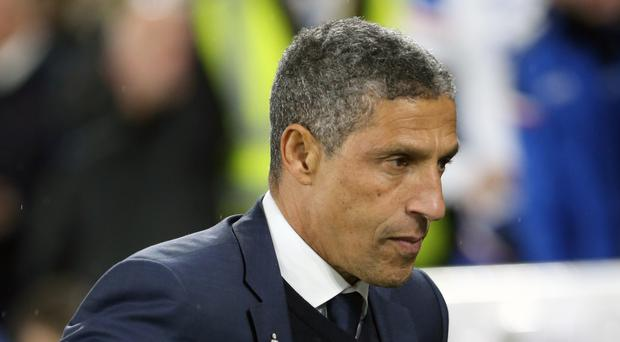 Chris Hughton accepts that Brighton are still on a learning curve