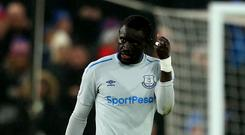Oumar Niasse has been charged with simulation by the Football Association in the Premier League clash with Crystal Palace