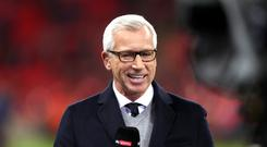 Alan Pardew has been linked with the West Brom job