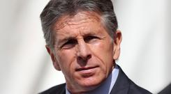 Claude Puel suffered his first defeat as Leicester boss last weekend