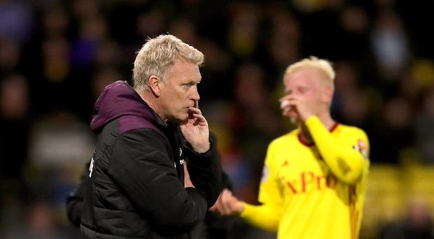 David Moyes lost his first game in charge of West Ham