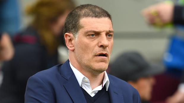 Former West Ham United manager Slaven Bilic has turned down the chance to become West Bromwich Albion's new head coach. Photo: PA