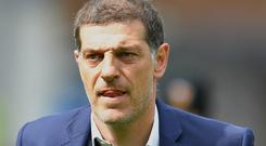Slaven Bilic was reportedly not interested in taking over at West Brom