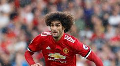 Marouane Fellaini could leave Manchester United in the summer