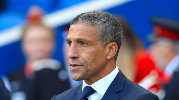 Brighton boss Chris Hughton wants his team to step things up as they head to Manchester United at the start of testing run of Premier League games