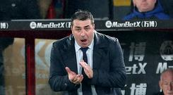Everton caretaker manager David Unsworth says progress towards a permanent appointment is