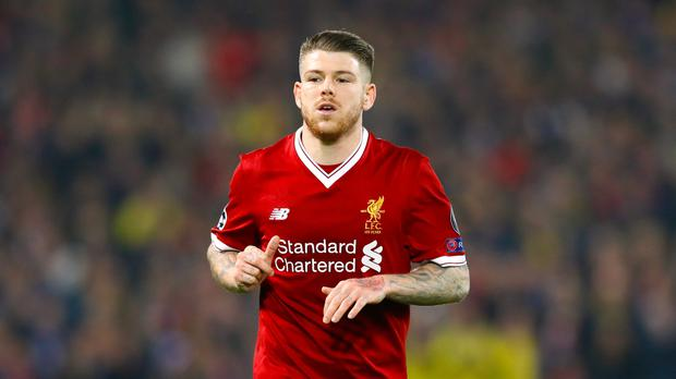 Alberto Moreno faces a stint on the sidelines