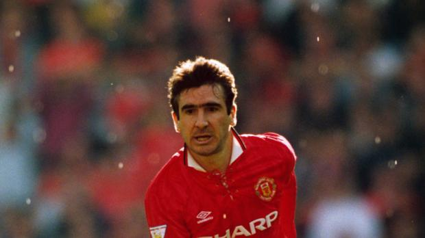Eric Cantona, pictured, wishes Pep Guardiola was at Man Utd