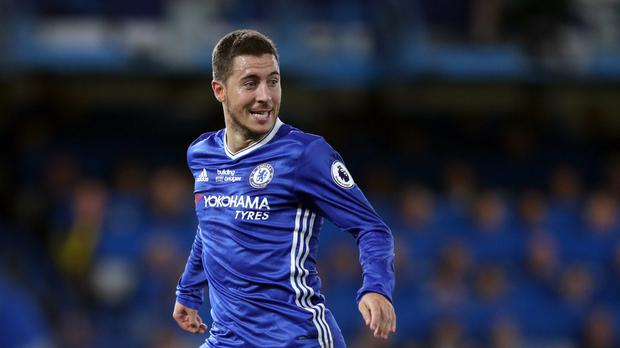Eden Hazard is in fine form for Chelsea
