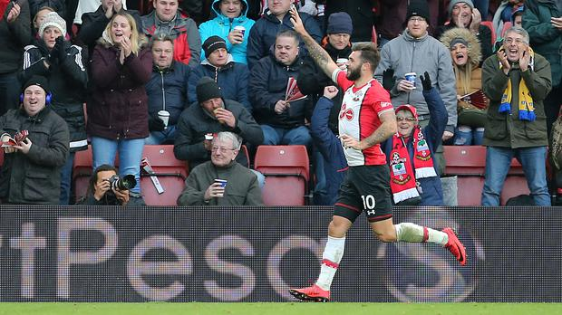 Charlie Austin bagged a brace against Everton