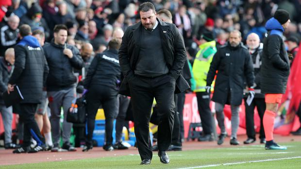 David Unsworth and Everton endured another torrid day