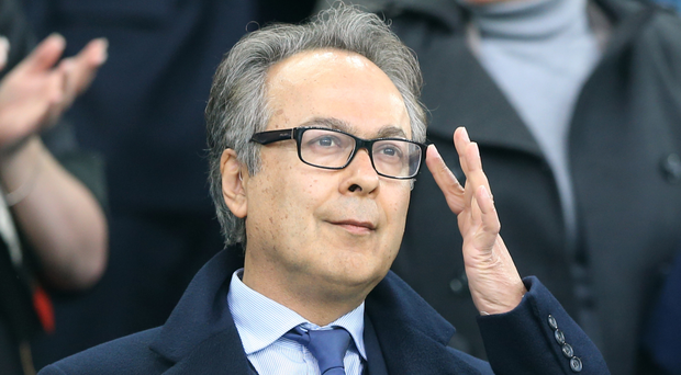 Everton majority shareholder Farhad Moshiri. Photo: PA
