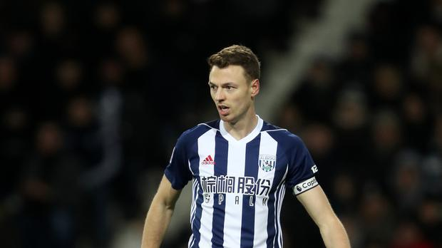 West Brom centre-back Jonny Evans is a man in demand