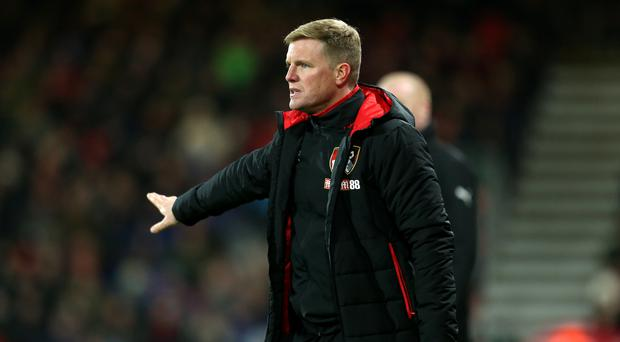 Eddie Howe feels Bournemouth still have work to do before they can challenge rivals Southampton