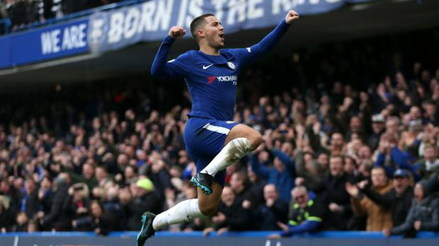 Chelsea's Eden Hazard is a player whose threat England will hope to tame