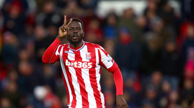Mame Diouf scored Stoke's winner against Swansea