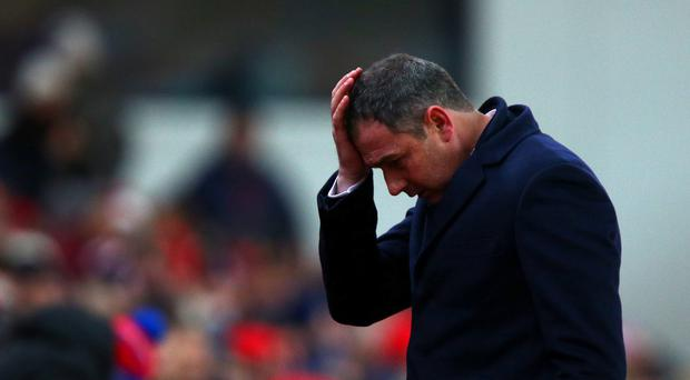 Paul Clement was scathing about his Swansea players and himself after defeat to Stoke saw them drop to the bottom of the table