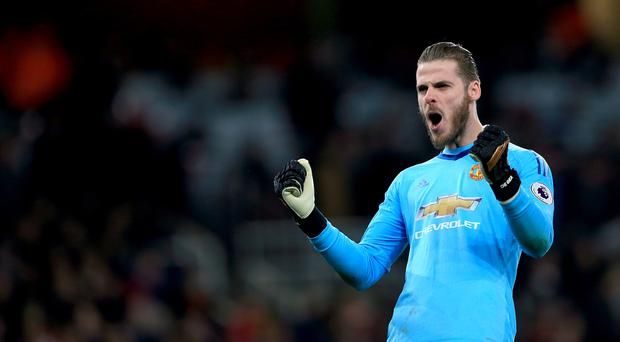 David De Gea was outstanding for Manchester United at the Emirates Stadium