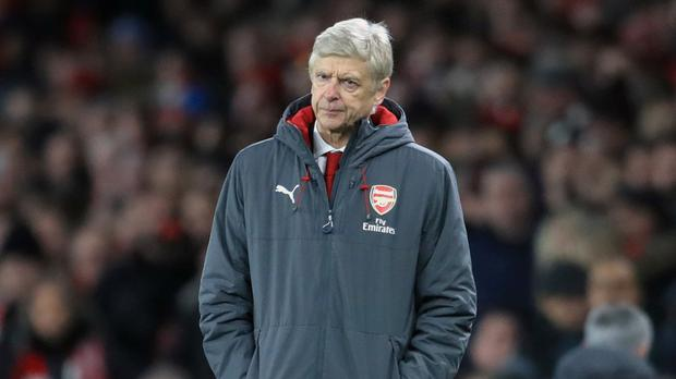 Arsene Wenger, pictured, slipped to another defeat against Jose Mourinho