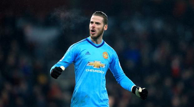 De Gea equals record for most saves in a Premier League game