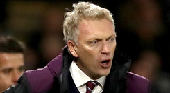 David Moyes secured his first win as West Ham boss against Chelsea on Saturday. Photo: PA
