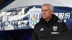 West Brom manager Alan Pardew oversaw a goalless draw with Crystal Palace