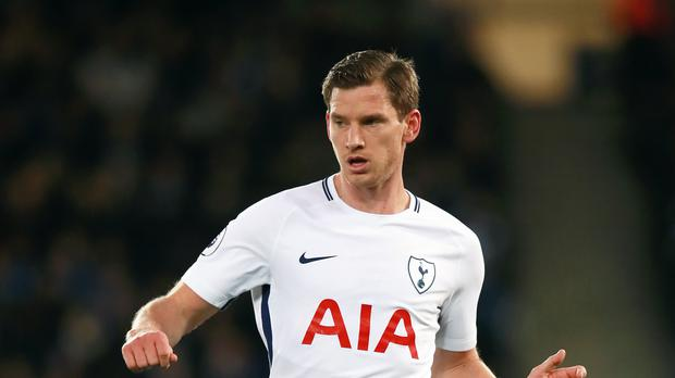 Jan Vertonghen says Tottenham have themselves to blame for sliding into sixth place