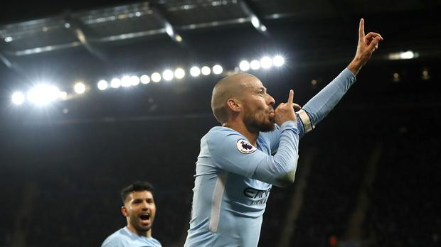 David Silva scored a late winner for Manchester City against West Ham