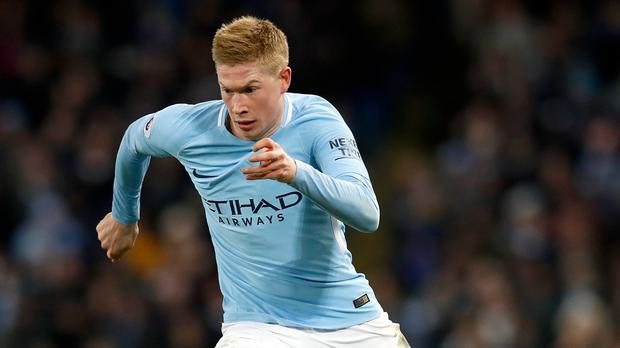 Kevin De Bruyne is turning his attention to next week's Manchester derby