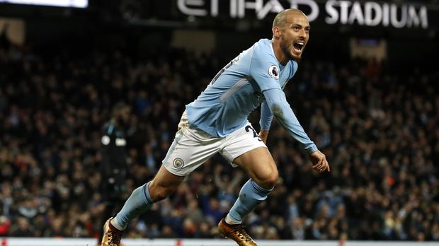 David Silva has not travelled with the Manchester City squad