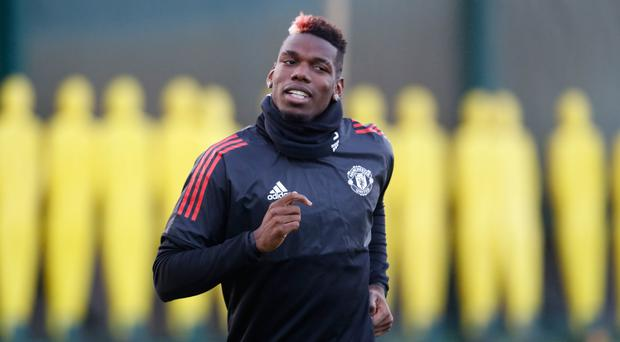 Paul Pogba is set to play for Manchester United in the Champions League on Tuesday night