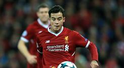 Liverpool's Philippe Coutinho has refused to commit his future to the club