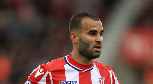 Stoke striker Jese Rodriguez has been disciplined for his actions during the victory over Swansea