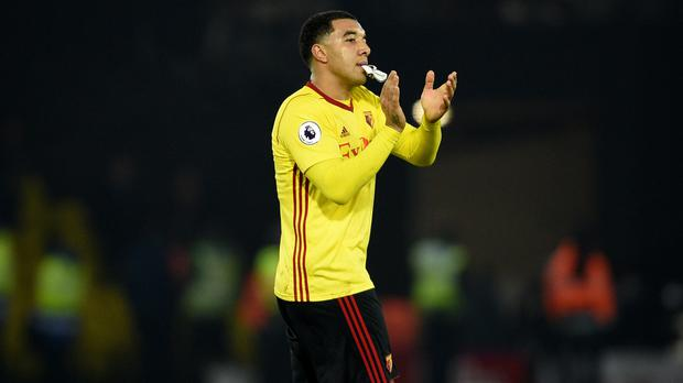 Watford's Troy Deeney has made a limited number of Premier League starts this season
