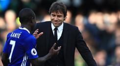 Chelsea's N'Golo Kante would be Antonio Conte's choice for the Ballon d'Or