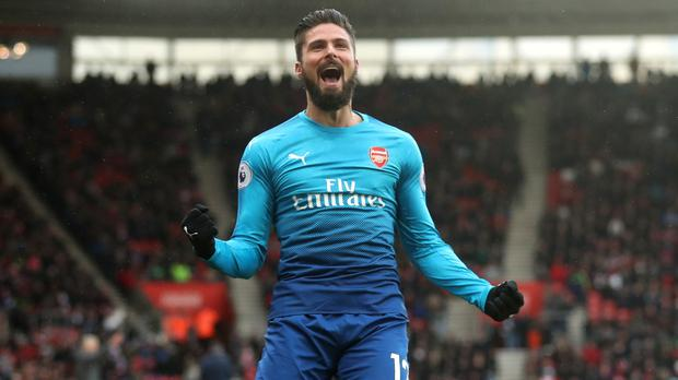Olivier Giroud Has Been A Back Up Player For Arsenal This Season