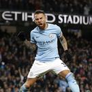 Nicolas Otamendi scored the winner for City in the Manchester derby