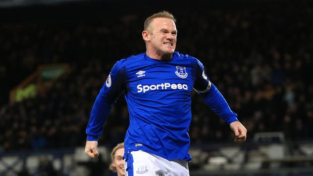 a4c7848e641 Everton's Wayne Rooney scored his first Merseyside derby goal in the 1-1  draw at