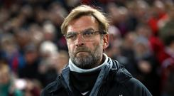 Liverpool manager Jurgen Klopp was not a happy man after the Merseyside derby