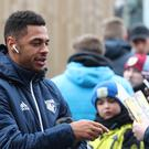 Andre Gray is impressed with both Sean Dyche and Marco Silva