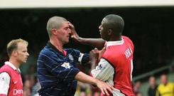 Roy Keane and Patrick Vieira clashed off the pitch as well as on it