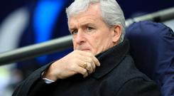 Mark Hughes' Stoke were thumped 5-1 by Tottenham on Saturday
