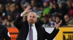 Sean Dyche has guided Burnley to the top half of the Premier League