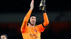 Arsenal goalkeeper Petr Cech says his side needs to start games better