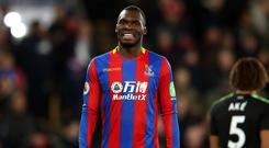 Christian Benteke was not a popular man inside Selhurst Park on Saturday